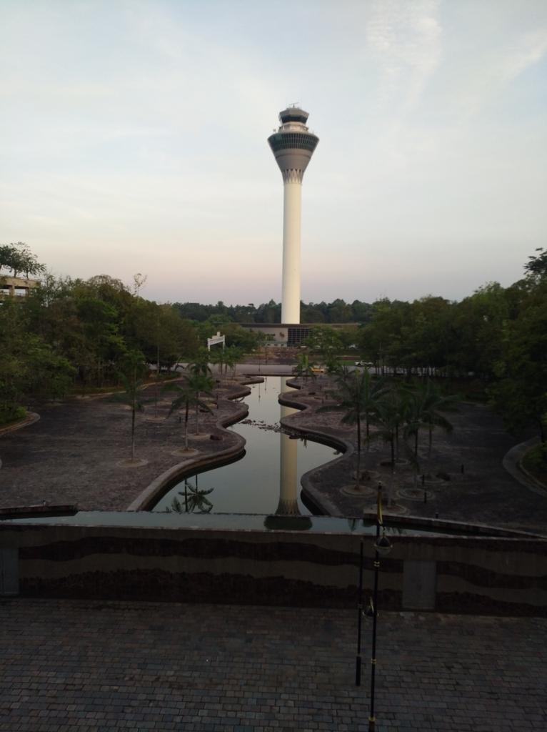 クアラルンプール空港到着から見える景色