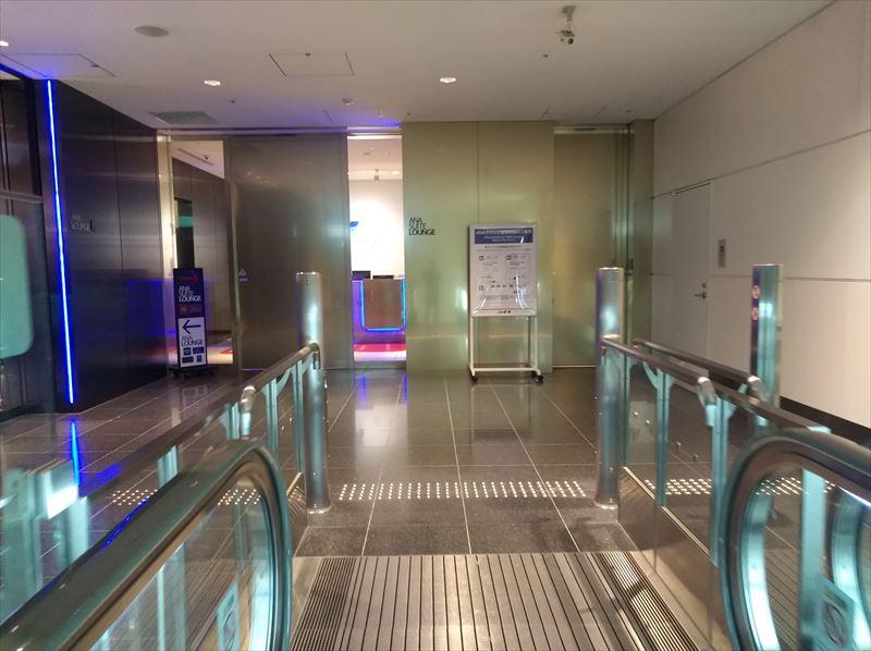 ANA LOUNGE 国際線 入口 羽田空港