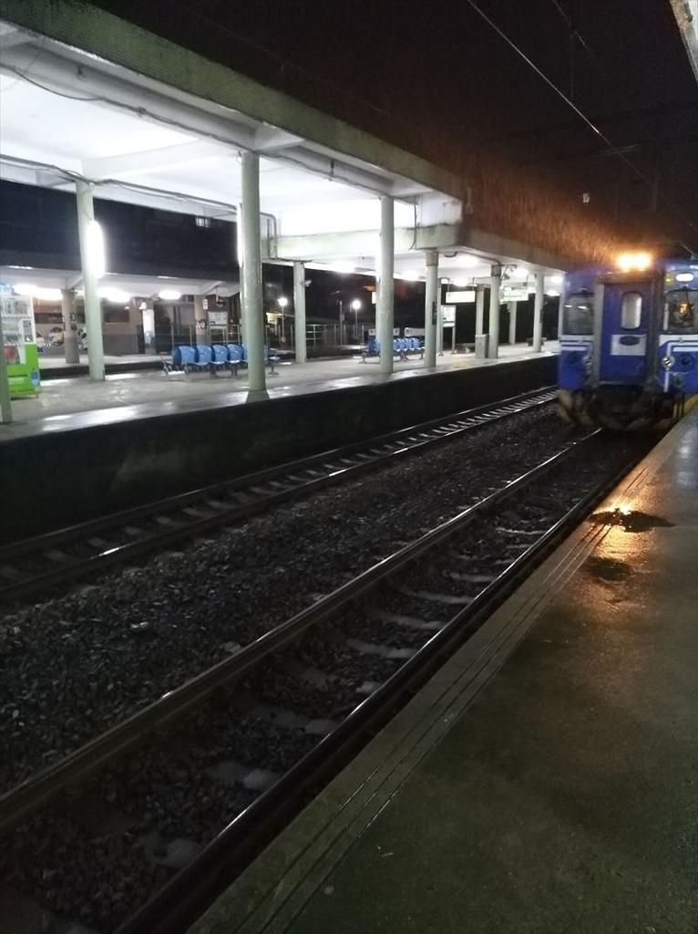 瑞芳駅から台北市内へ 電車