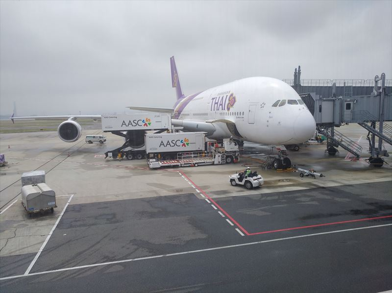 A380 タイ航空 ファーストクラス